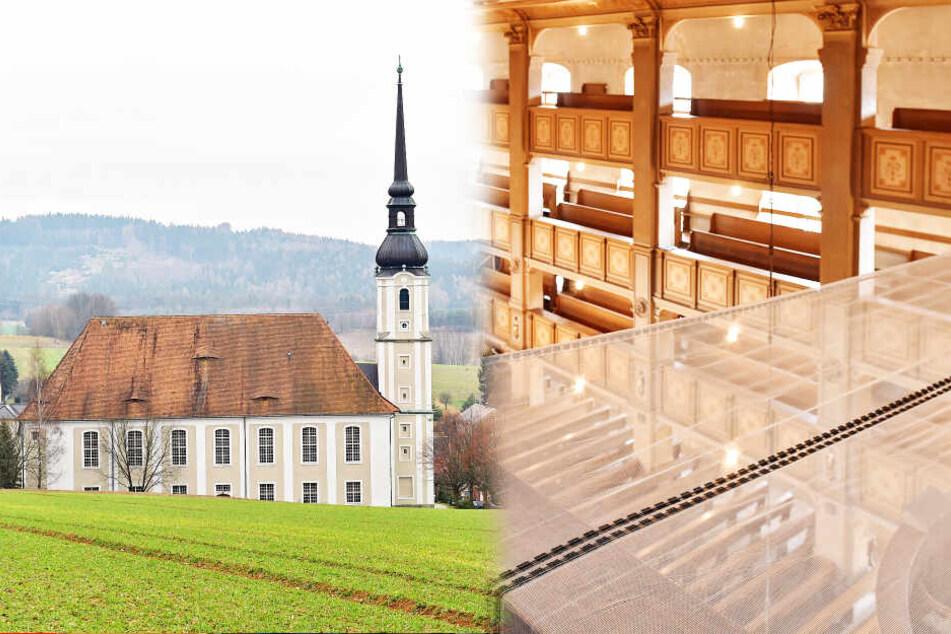 """Bröckel-Alarm! Deutschlands größte Dorfkirche wird """"gut vernetzt"""""""