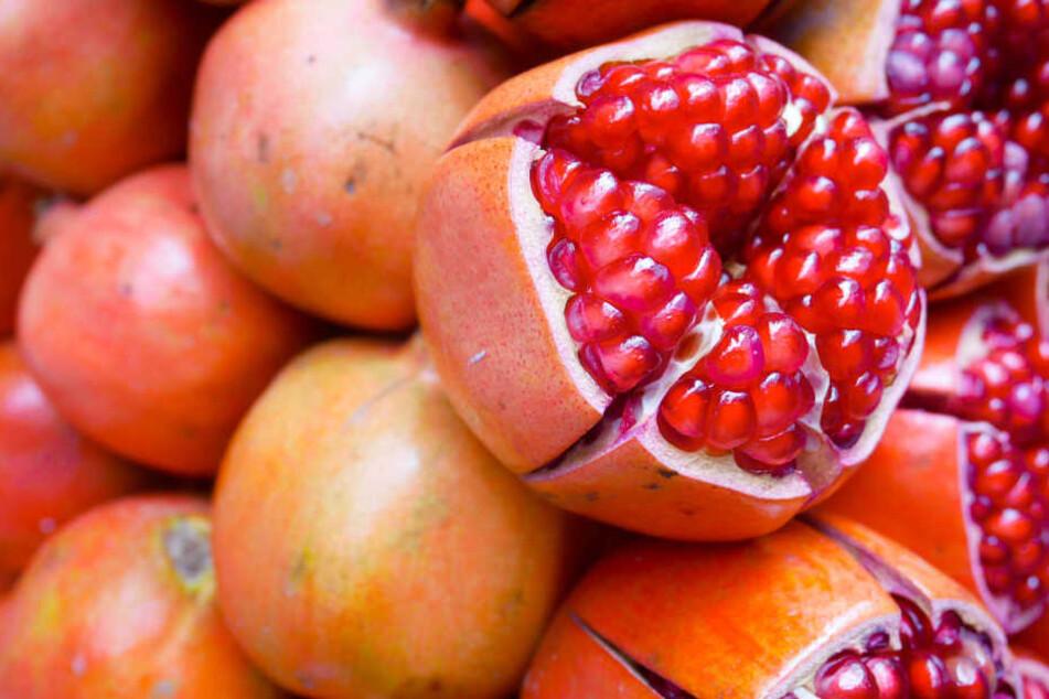 Tödliche Frucht: Mit Hepatitis-A-Viren verseuchte Granatapfelkerne kosteten eine Frau in Australien das Leben.