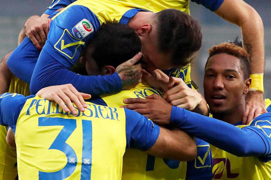 Nach Parma Calcio droht auch Chievo Verona der Zwangsabstieg.