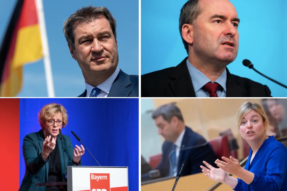 Bayerns Parteien zum Jahresbeginn: So sieht der Plan zwischen Corona und Wahl aus