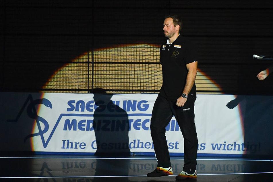 HCE-Coach Christian Pöhler lobte Nils Gugisch nach dem Sieg in Dessau ausdrücklich.