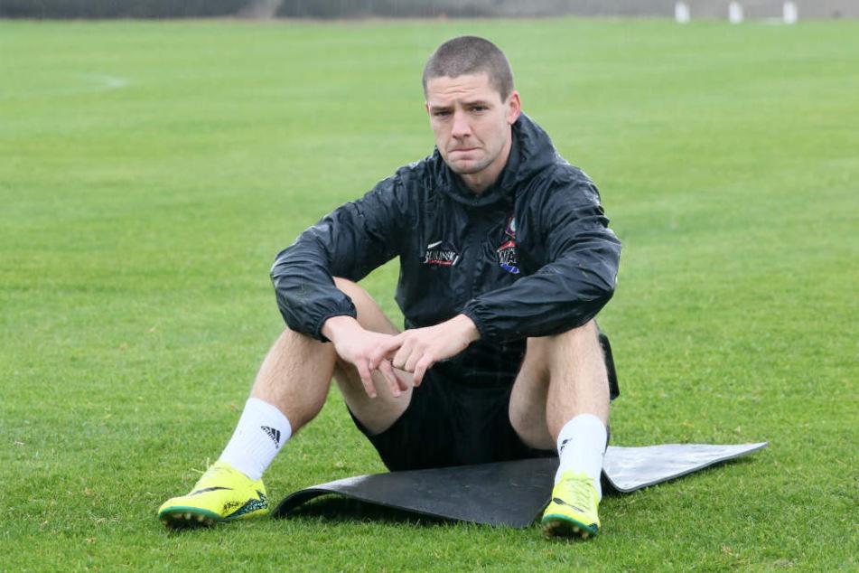 Ein trauriger Blick: Adam Susac muss den FCE nach zwei Jahren wieder verlassen.