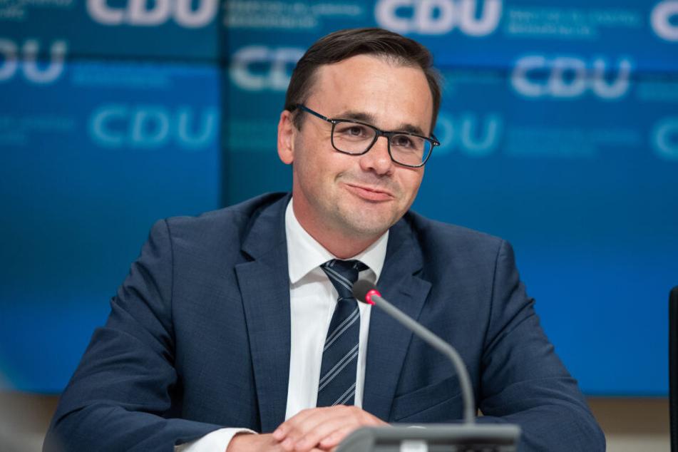 Jan Redmann war bisher Parlamentarischer Geschäftsführer und gilt als Vertrauter Senftlebens.