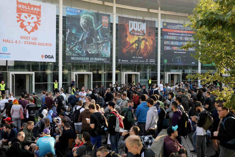 Großer Andrang: Besucherrekord bei der Kölner Gamescom?