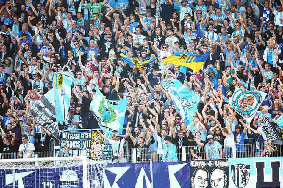 Auch bei Niederlagen - das Chemnitzer Publikum steht in dieser Saison bedingungslos zur Mannschaft.