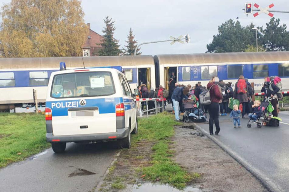Notarzteinsatz am Bahngleis! Sperrung auf Zugstrecke in Leipzig aufgehoben