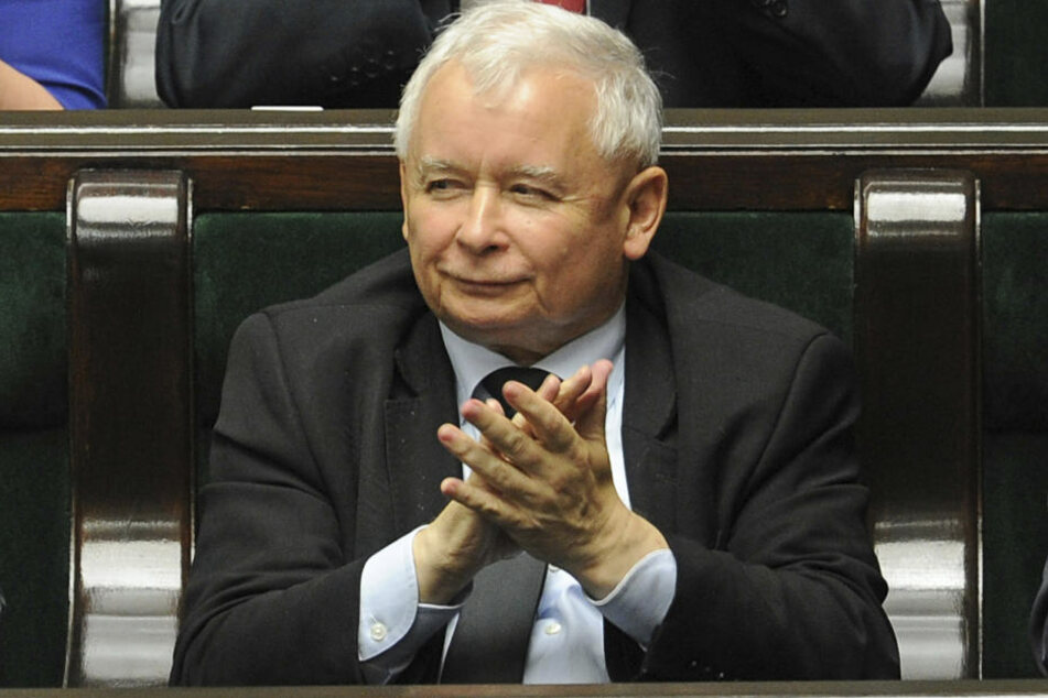 Der Vorsitzende der polnischen Regierungspartei Recht und Gerechtigkeit (PiS), Jaroslaw Kaczynski.