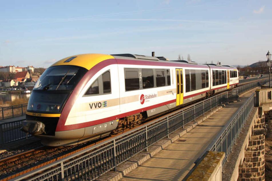 Über Neustädter Brücken fährt die Städtebahn in der kommenden Woche nicht.