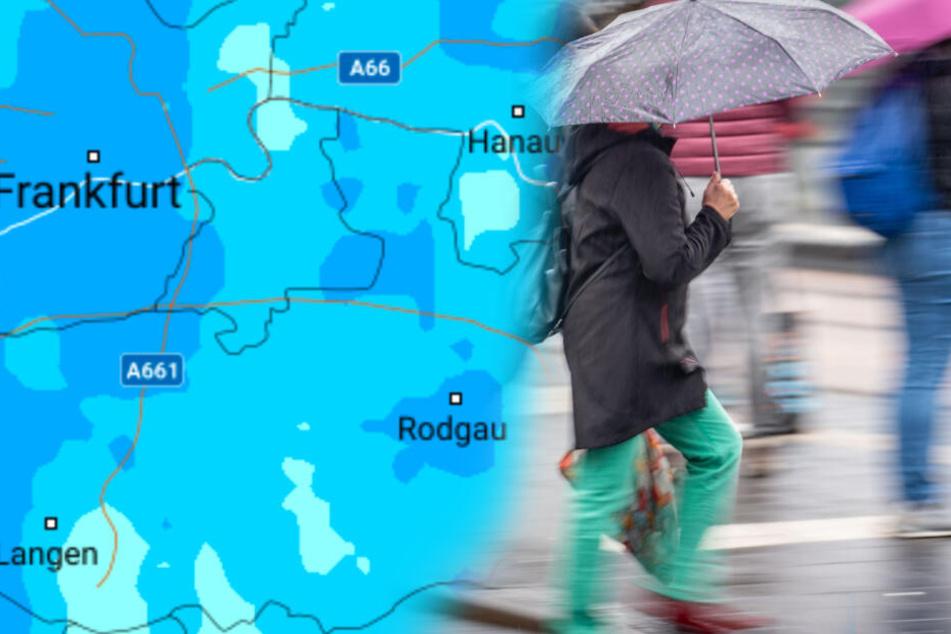 Hessen versinkt im Regen, doch können wir den Schirm bald nochmal einpacken?