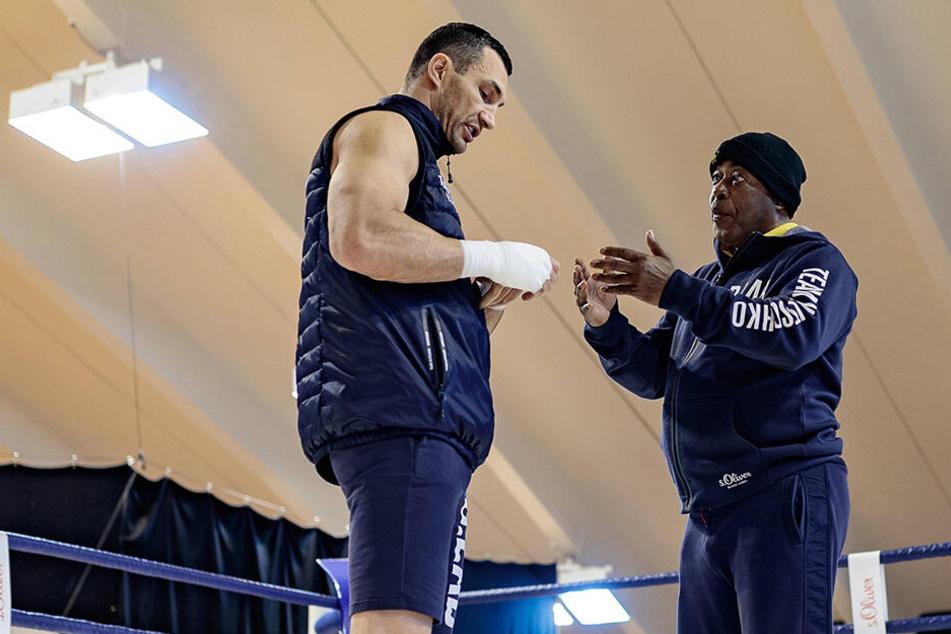 James Ali Bashir arbeitete als Co-Trainer der Boxlegende Wladimir Klitschko.