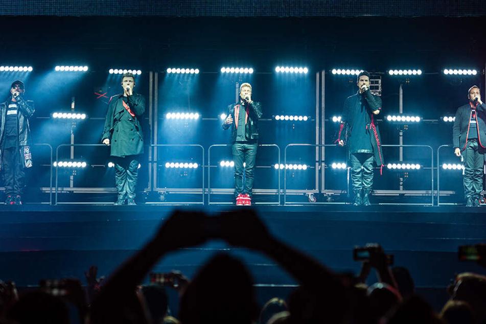 """Die Backstreet Boys machten mit ihrer """"DNA World Tour"""" bereits in fünf deutschen Städten halt."""