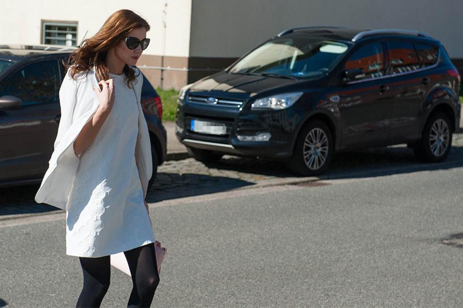 Top gestylt erschien Nathalie Volk am Montag vor dem Amtsgericht Soltau.