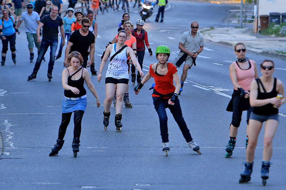 Für das erste Nachtskaten in Chemnitz werden noch Helfer gesucht