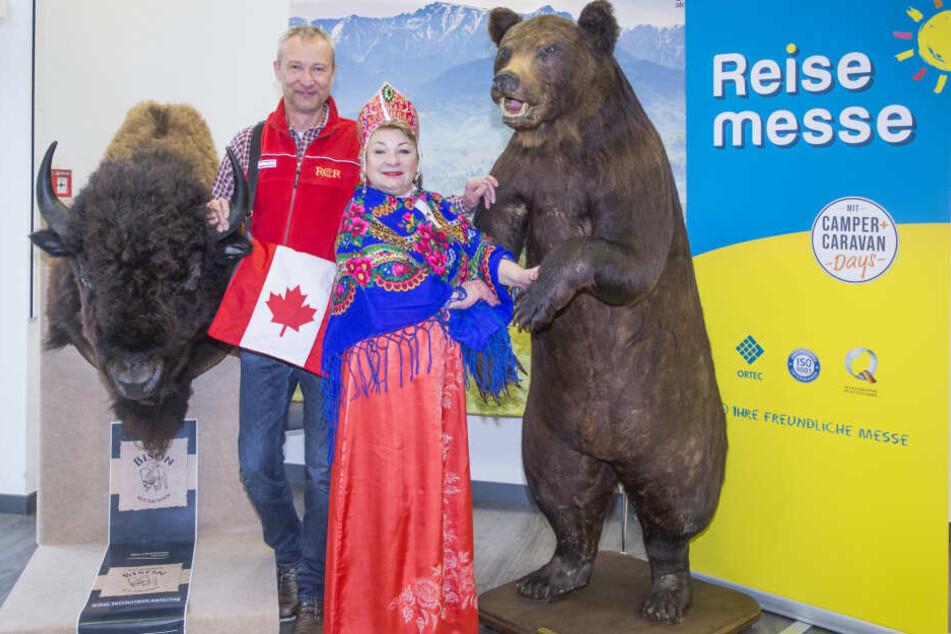Naturwunder erleben: nur ein Schwerpunkt auf der Reisemesse und den parallel stattfinden Schulz Aktiv-Reisetagen.