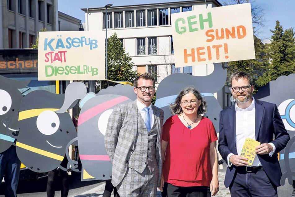 Dresden: Diese drei Bürgermeister wollen, dass wir den Führerschein abgeben!