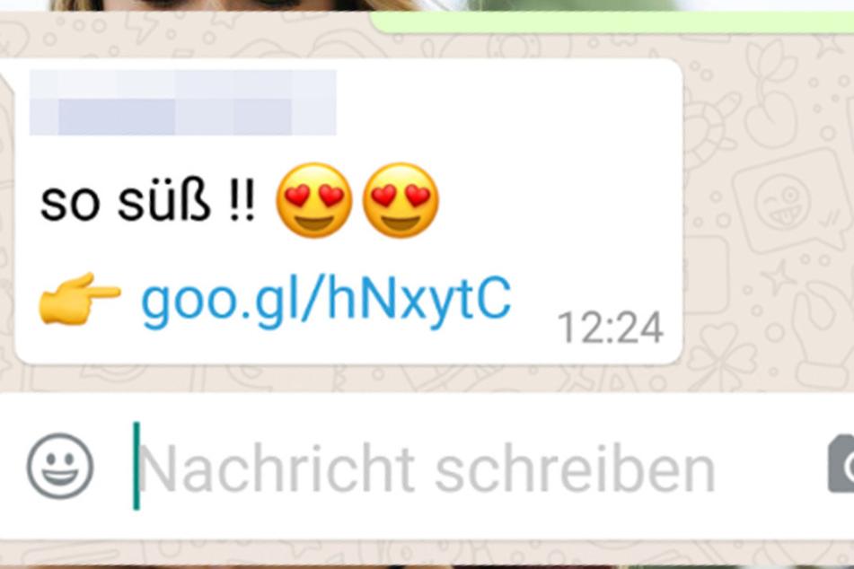 So sieht die gefährliche WhatsApp-Nachricht aus.