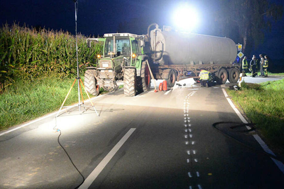 Der Fahrer des Traktors wurde von der Staatsanwaltschaft angeklagt.