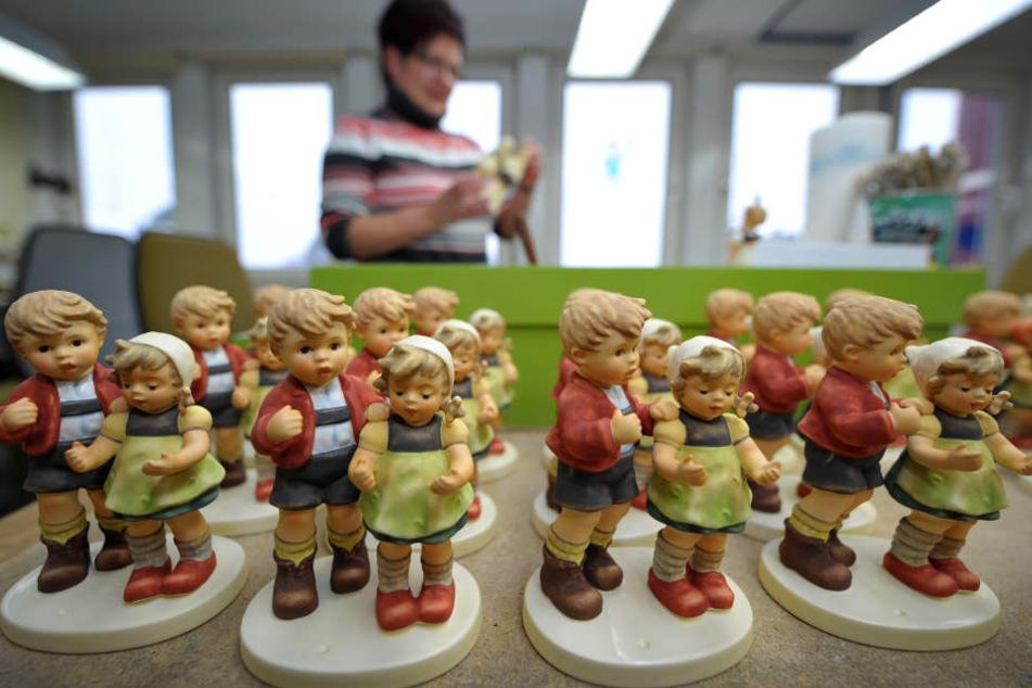 Die Figuren sind bei Sammlern auf der Ganzen Welt beliebt. (Archivbild)
