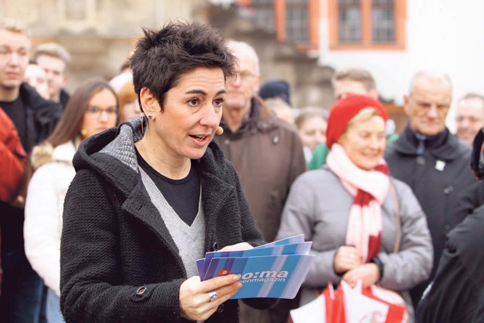 Das ZDF im Gespräch mit Bürgern in Plauen: Morgenmagazin-Moderatorin Dunja  Hayali berichtete aus der  Stadt, in der die Wende begann.