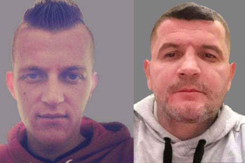 Männergruppe schlug auf 23-Jährigen ein: Polizei sucht noch diese beiden Verdächtigen!
