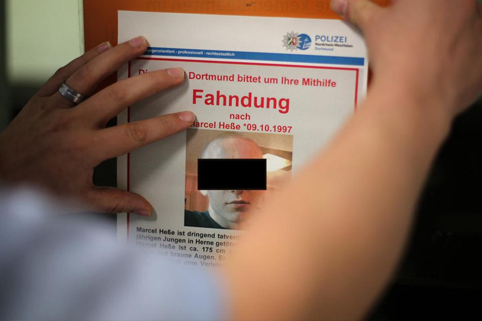 Der Kinder-Killer Marcel Heße (19) aus Herne wurde am Donnerstagabend gefasst!