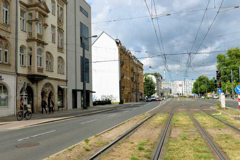 Die Tat geschah in der Weißeritzstraße in Dresden-Friedrichstadt.