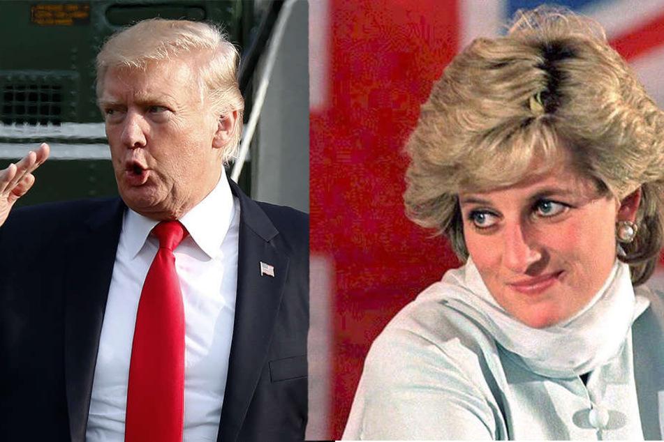 Donald Trump (72) behauptet steif und fest, dass er Lady Diana hätte haben können.