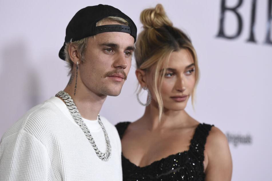 Justin Bieber mit Ehefrau Hailey Baldwin.