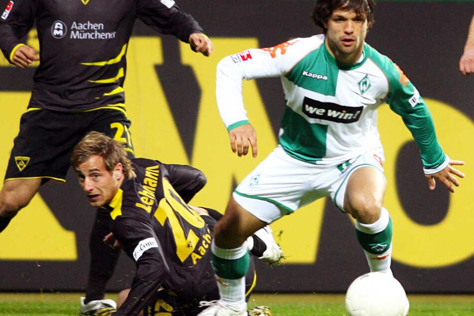 Der Brasilianer Diego 2007 im Bremer Weserstadion gegen Alemannia Aachen. Diego schoss 57 Bundesliga-Tore.