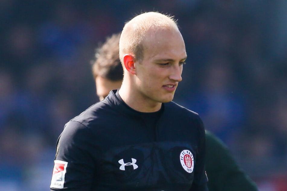 Svend Brodersen stand im April gegen Holstein Kiel im Tor.
