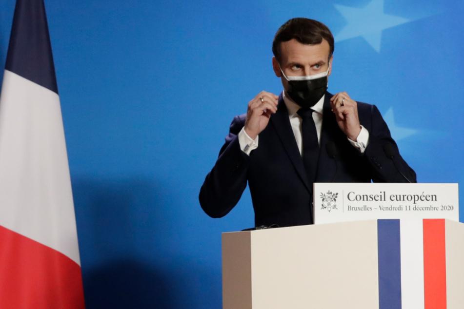 Frankreichs Präsident Macron positiv auf Coronavirus getestet