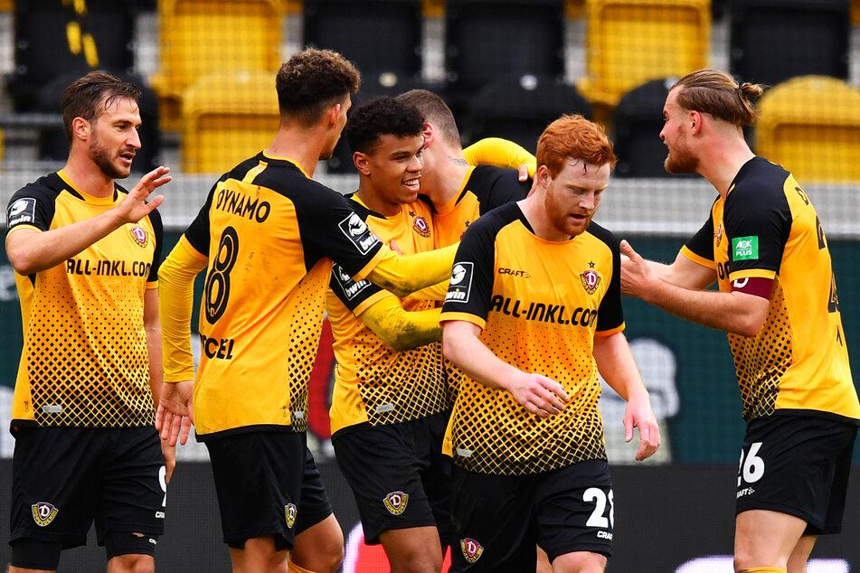 Dynamo Dresdens aktuelles Team ist nach 26 Spielen sogar nochmal zwei Tore besser als in der legendären Aufstiegssaison 2015/2016!