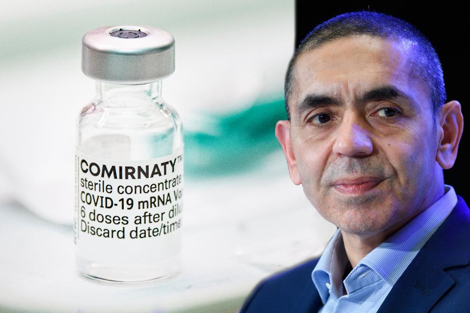 Ugur Sahin (55), Gründer des Mainzer Corona-Impfstoff-Entwicklers Biontech setzt momentan noch voll auf den aktuellen Impfstoff.