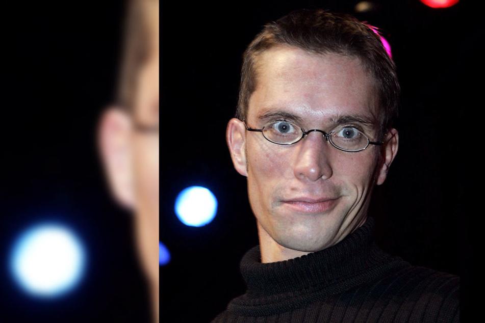 """Ingo Börchers (44) wird mit dem Lachmessepreis """"Leipziger Löwenzahn"""" ausgezeichnet."""