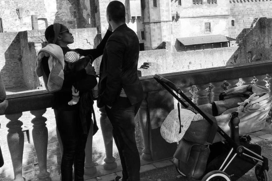 Motsi Mabuse verbringt Zeit mir ihren Liebsten in Heidelberg.