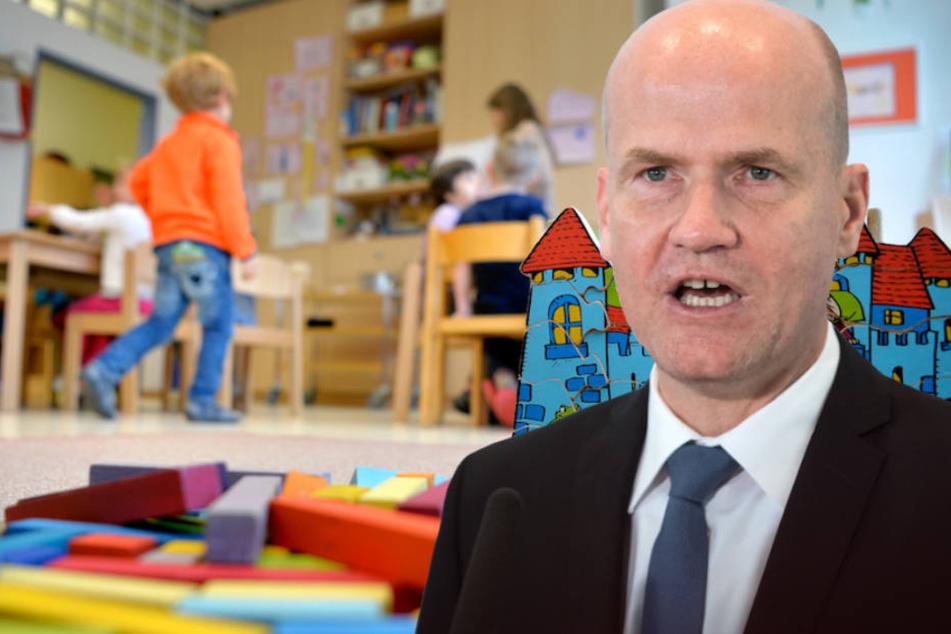 Auch Unions-Fraktionschef Ralph Brinkhaus (50, CDU) sieht die Länder in der Pflicht. (Bildmontage)