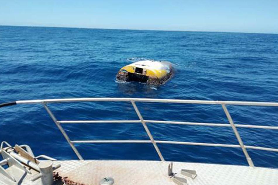 """Nach über acht Jahren wurden das Unglücksboot """"Wild Eyes"""" im Meer gefunden."""