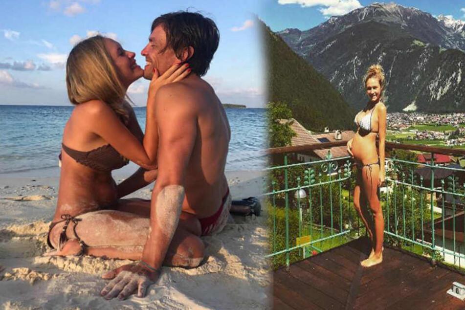 Baby da! Model Alena Gerber und Clemens Fritz sind Eltern