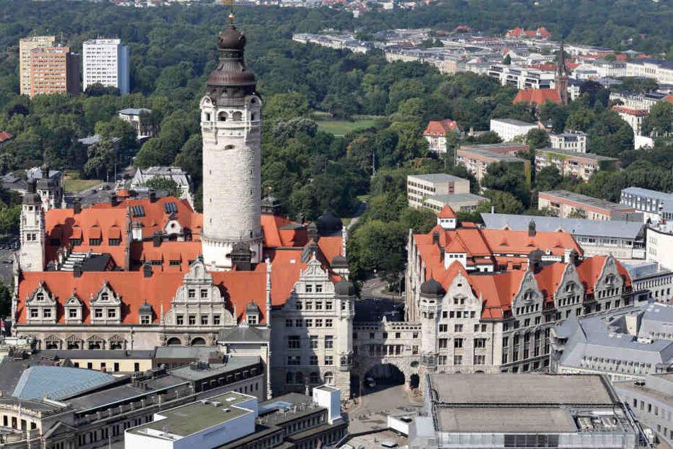 In Leipzig sind derzeit rund 582.000 Menschen gemeldet.