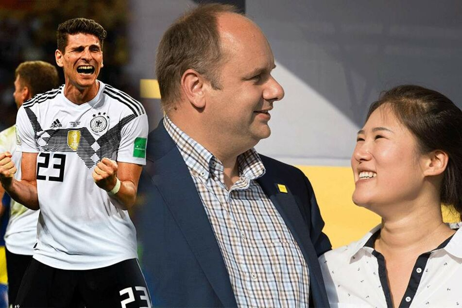 OB Hilbert & seine südkoreanische Ehefrau: Wer drückt heute wem die Daumen?