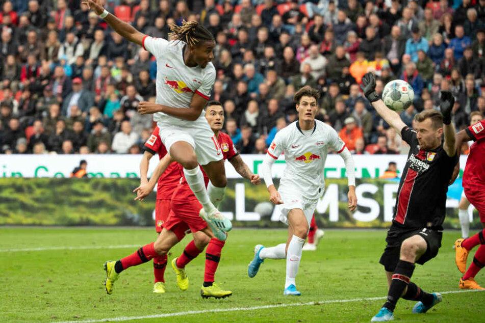 Das Hinspiel in Leverkusen endete mit einem 1:1-Unentschieden.