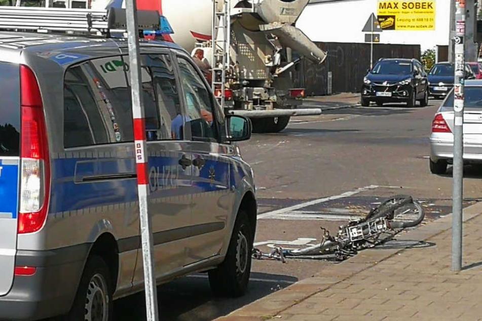 Vor wenigen Tagen kam ein 53 Jahre alter Radfahrer in Leipzig ums Leben. Auch er wurde von einem Lkw erfasst.