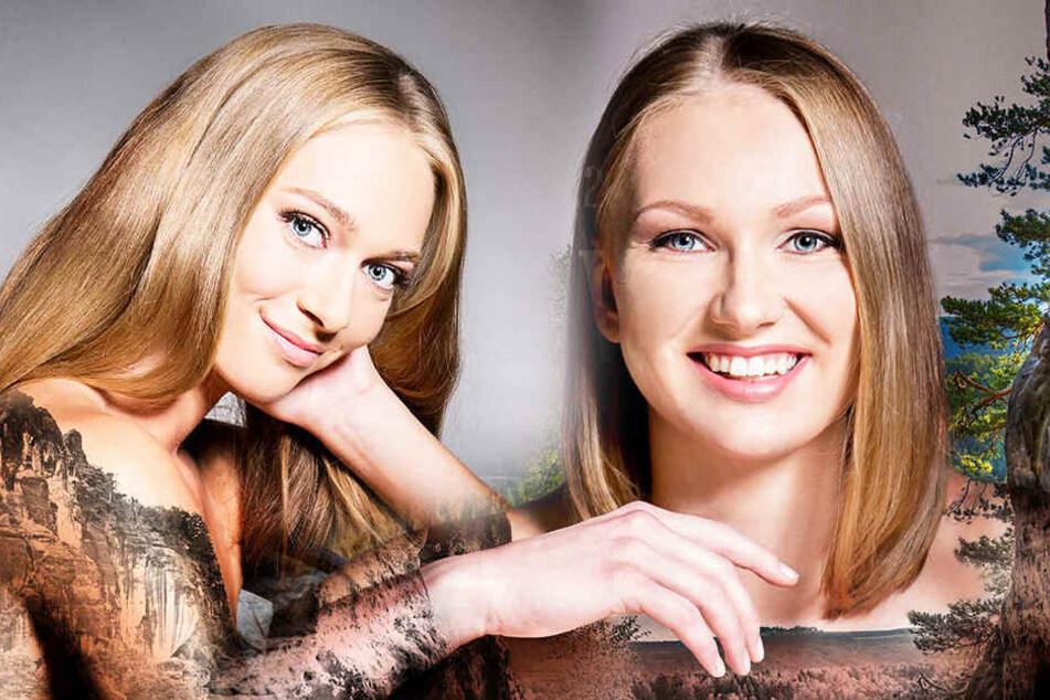 Dominika Strumilo (li.) und Piia Korhonen posierten ebenfalls für den tollen Kalender.
