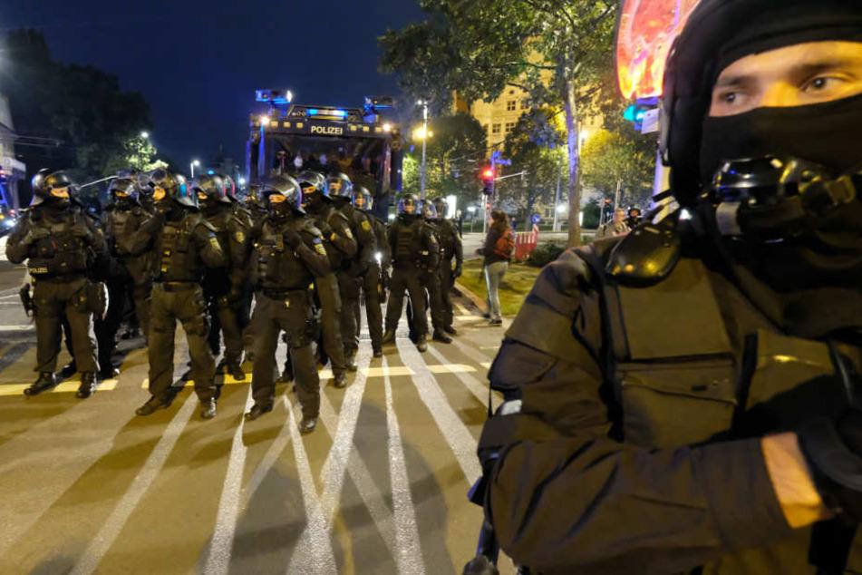 Nach Sitzblockade bei Legida: Verfahren gegen Demonstranten eingestellt