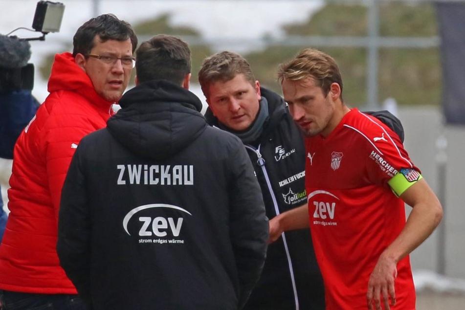 FSV-Kapitän Toni Wachsmuth wird trotz eines Nasenbeinbruchs in Wiesbaden auflaufen.