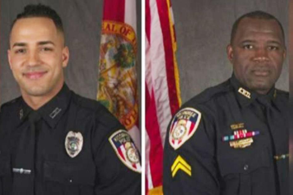 Nacht des Grauens: Zwei Tote bei Schüssen auf Polizisten in drei Städten