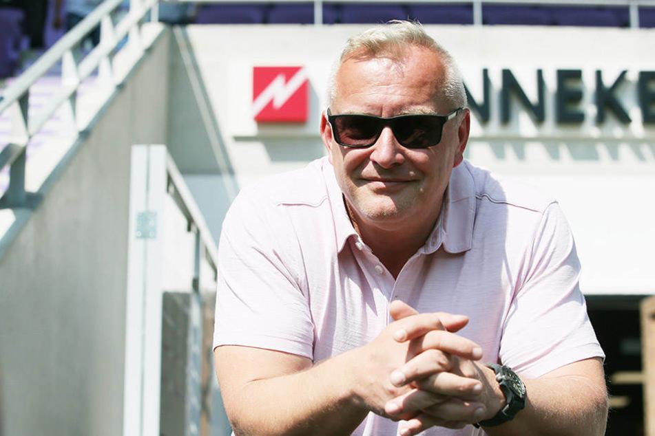 Michael Voigt, Geschäftsführer des FC Erzgebirge Aue