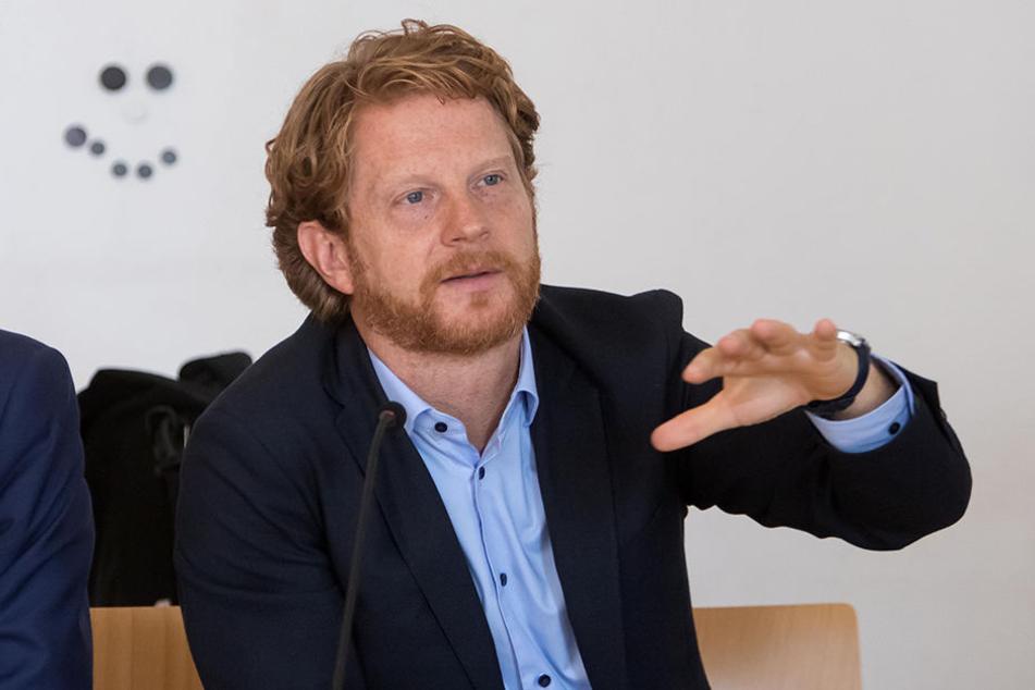 Baubürgermeister Michael Stötzer (45, Grüne) lässt die Bauleistungen neu ausschreiben.