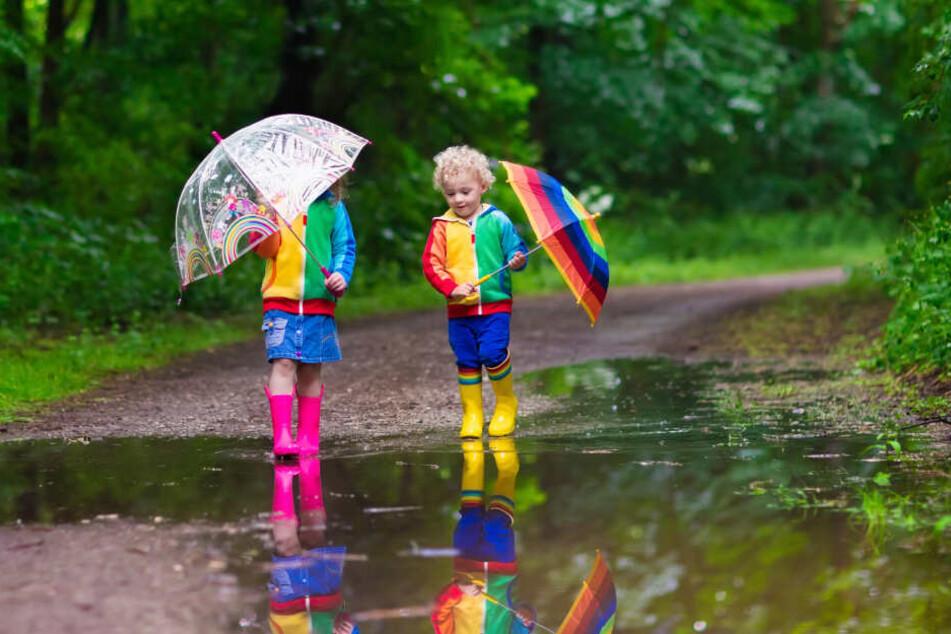 Mit Regen ist laut dem Deutschen Wetterdienst auf jeden Fall zu rechnen.