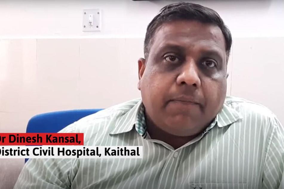 Chefarzt Dinesh Kansal äußerte sich zu den schrecklichen Vorfällen.